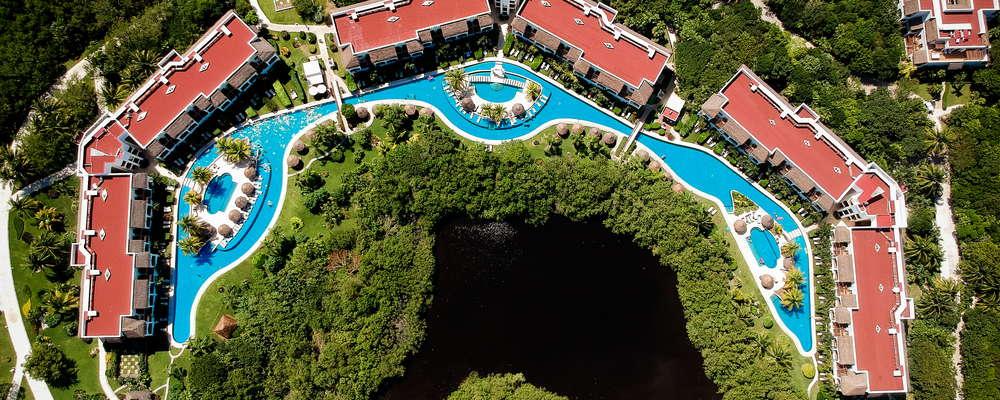 Golden lazy pool