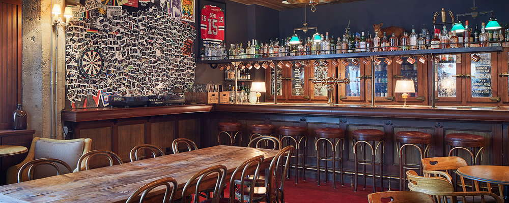 Soho House Chicago's public bar, Fox Bar