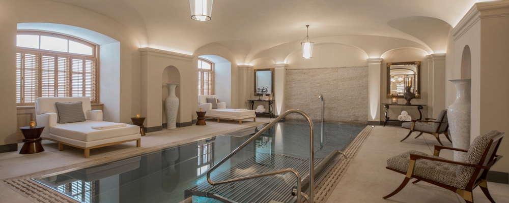 Vitality pool in AVA spa
