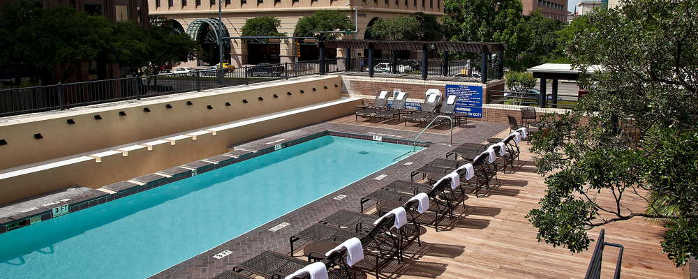 Our outdoor pool space can also be used for functions