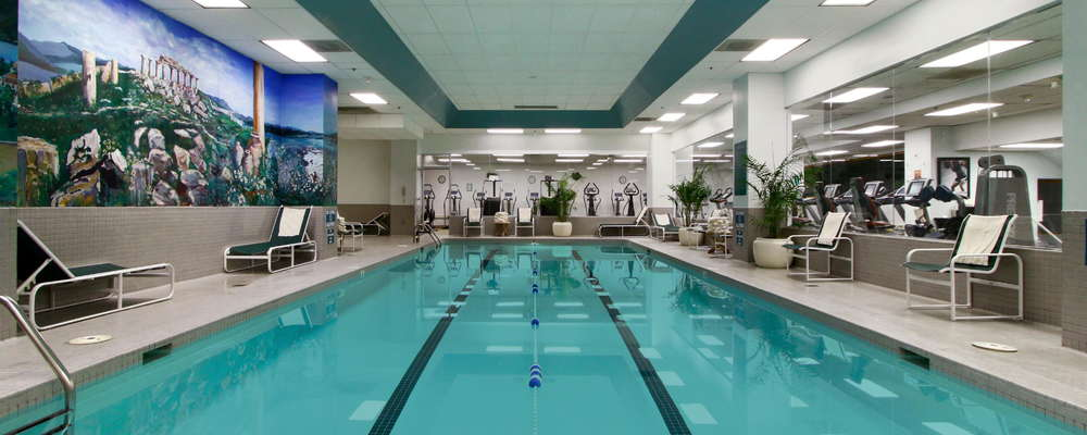 Saltwater lap pool located in the Balance Gym. Complimentary for hotel guests.