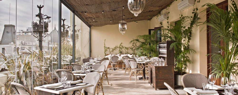 Ático restaurant