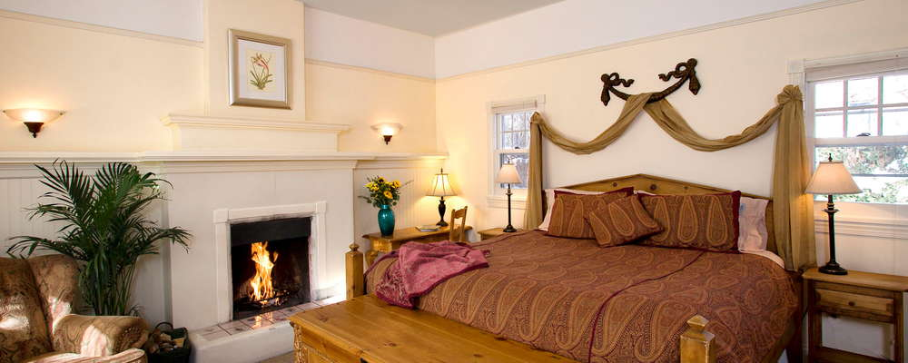 Guests love our quiet and private garden cottages, just steps from the historic main inn and our Absolute Nirvana Spa.