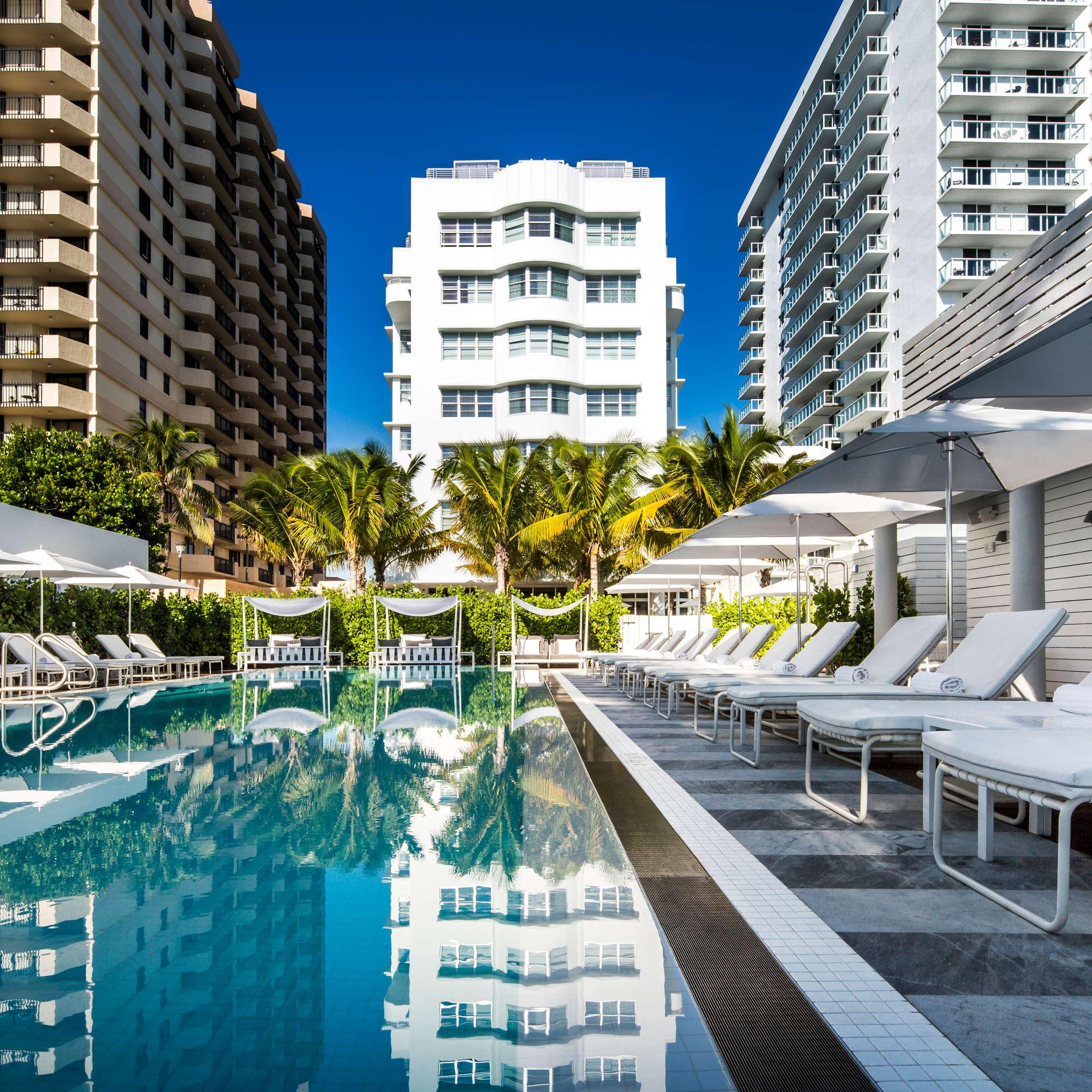 Como Metropolitan Miami Beach Room Pool