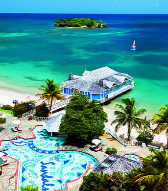 Sandals Halcyon Beach Resort Spa