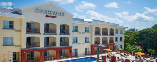 Courtyard Bridgetown, Barbados is ideal for both long business trips and fun-filled weekend getaways