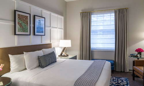 Heathman Hotel Guest Room