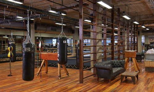 Soho House Chicago 17,000 sq ft gymnasium