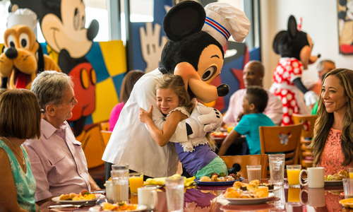 Chef Mickey's at Disney's Contemporary Resort