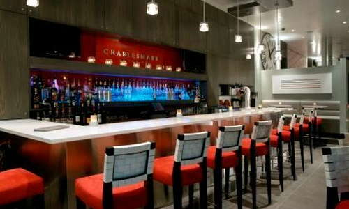 Charlesmark Lounge opens at 5PM