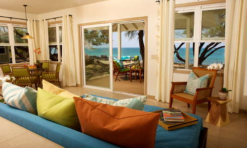 Lava Lava Beach Club cottages provide all the comforts of a private home, the convenience of a beachfront hotel, and the excitement of a surf shack