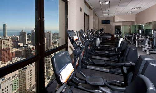 35th floor fitness center