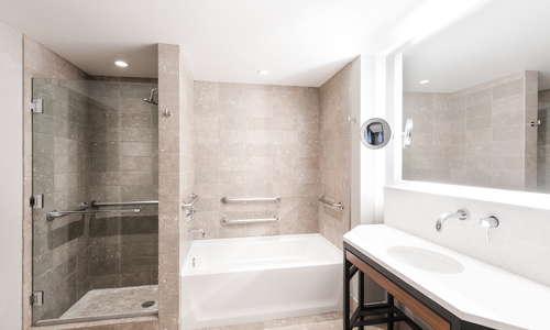 Prelude King Bathroom