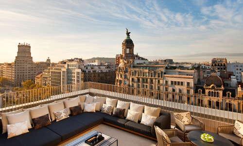 Penthouse terrace