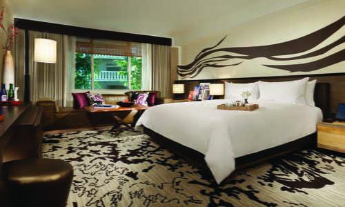 Nobu Deluxe King Bedroom