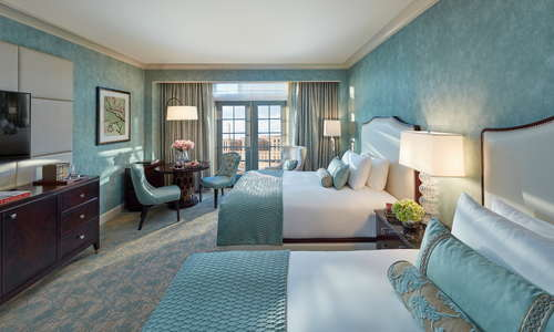 Newly refreshed Deluxe City View Room