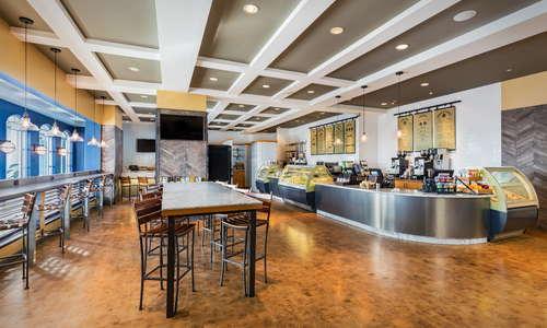 Silver Strand Exchange: fresh juice, sandwiches, salads, gelato, pastries and coffee bar