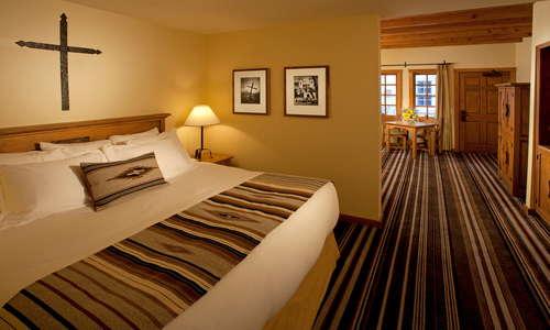 Mission King Suite Bedroom