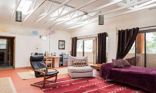 "Silverado Suite ""yoga studio"" for meetings, yoga, or as an extra bedroom"