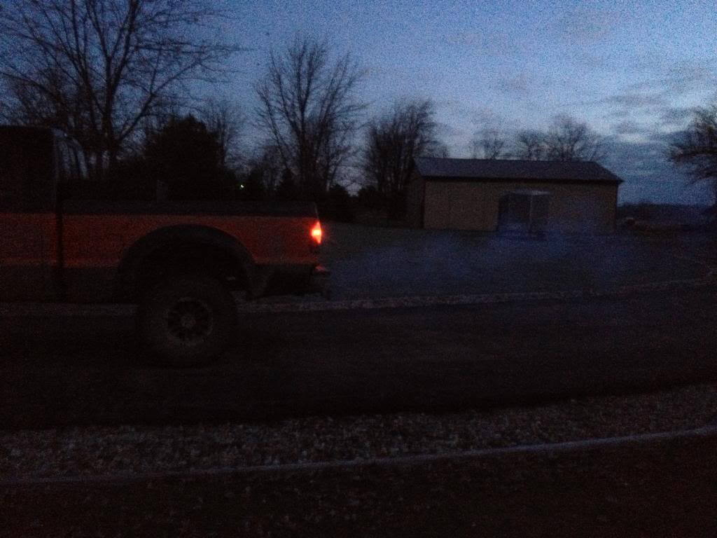 Ford F150 F250 White Exhaust Smoke Why Do I Have Trucks 2005 F 250 Fuel Filter Figure 1 Typical From A Cold Day