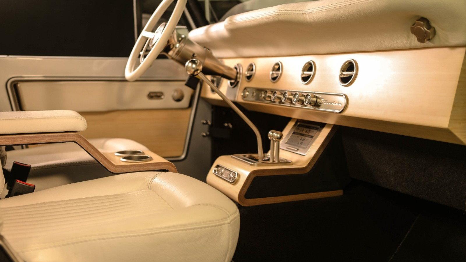 1971 Ford Bronco Interior