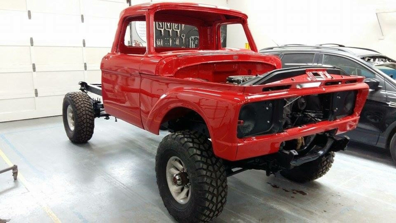 1964 F 250 Truck Gets A Very Cool Diesel Upgrade Ford Trucks