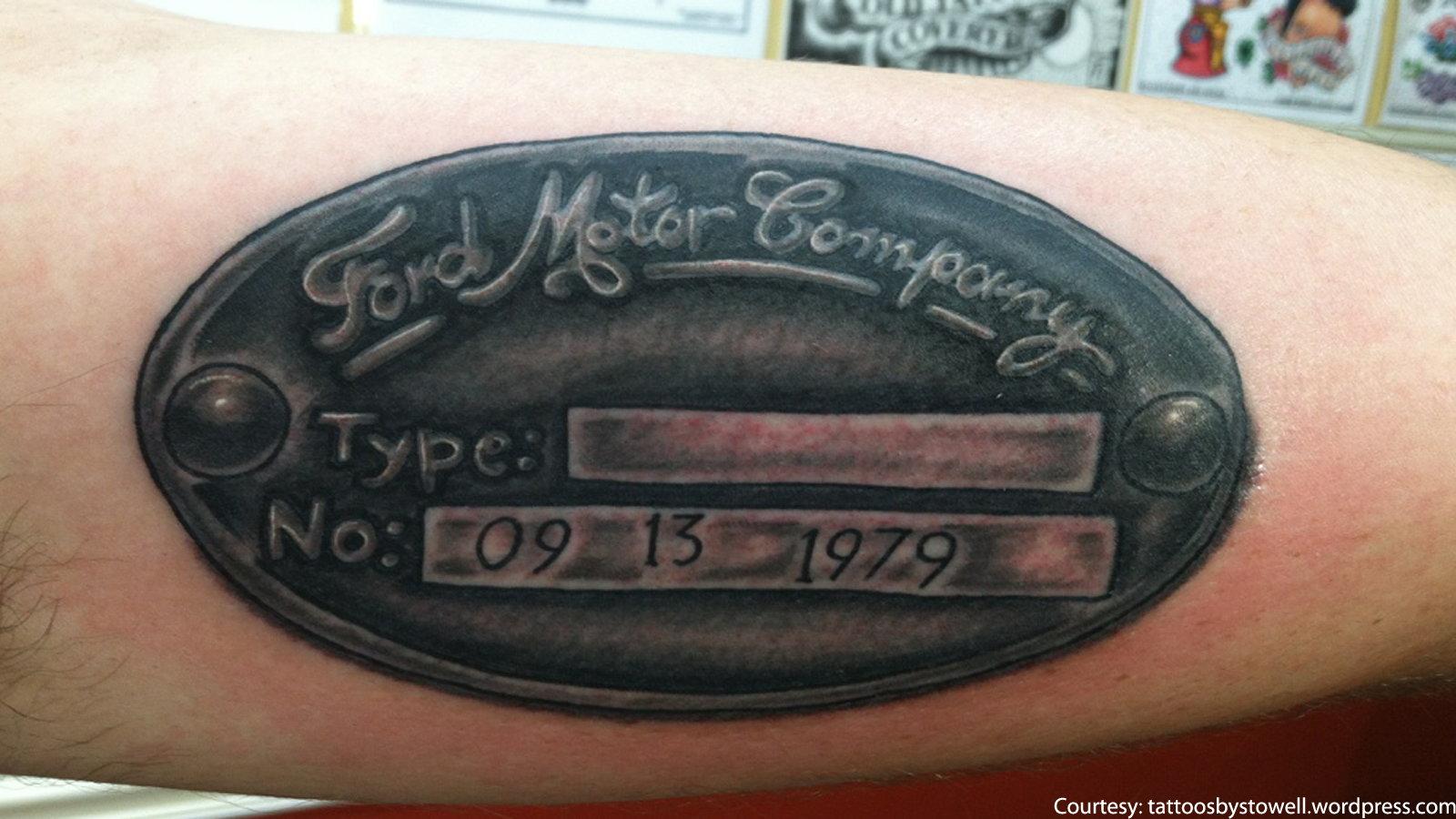 10 Funky Ford Tattoos Ford Trucks