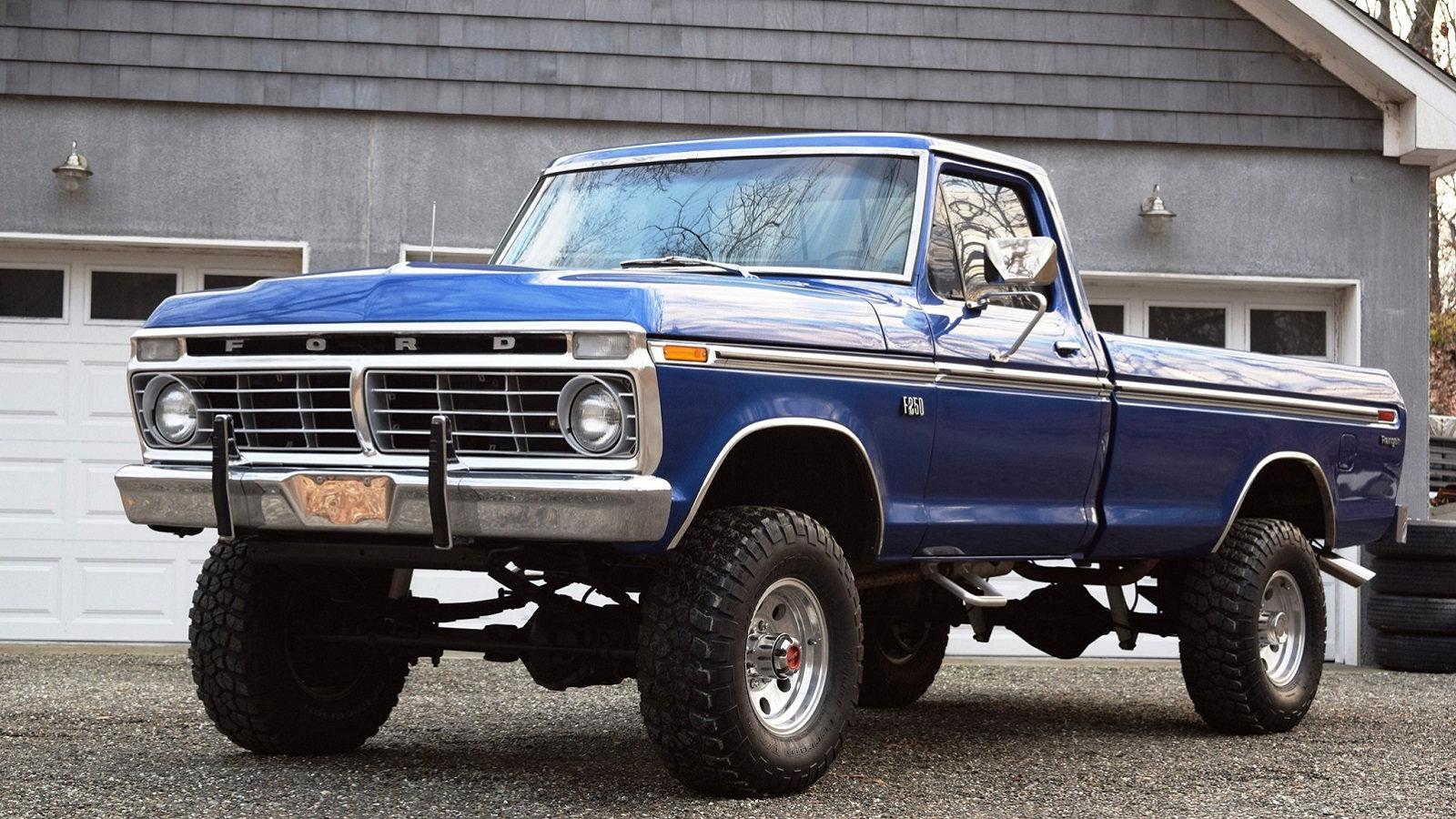 ford highboy 1974 250 trucks