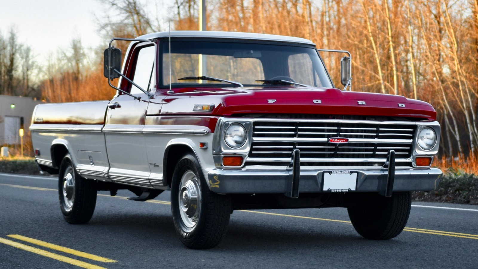 Beautiful 1968 Ford F 250 Camper Special Looks No Worse For Wear Ford Trucks