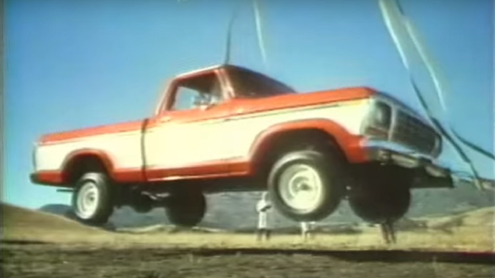 Ford Truck Gets Dropped from a Crane