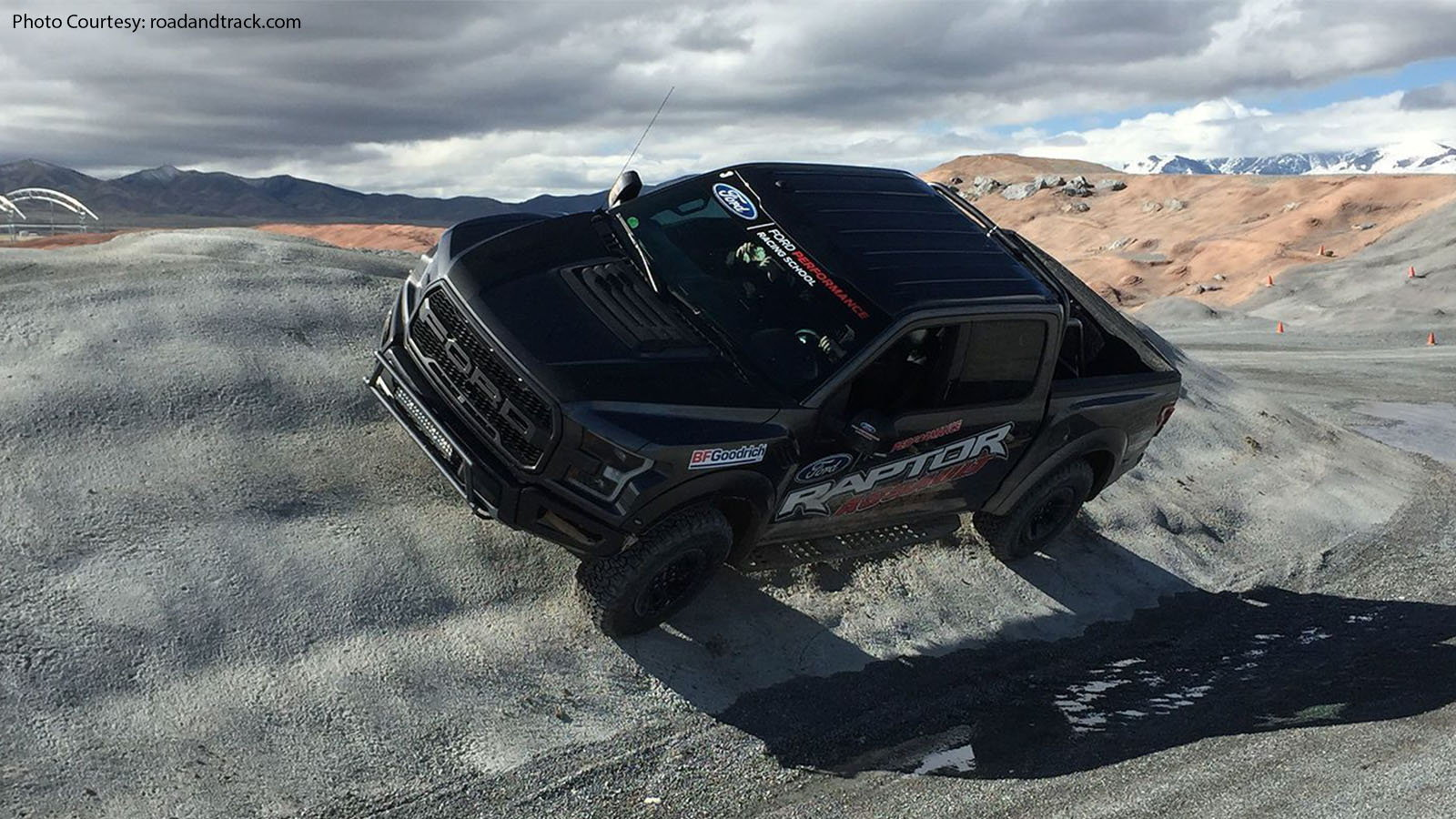 The Ford Raptor Invitation