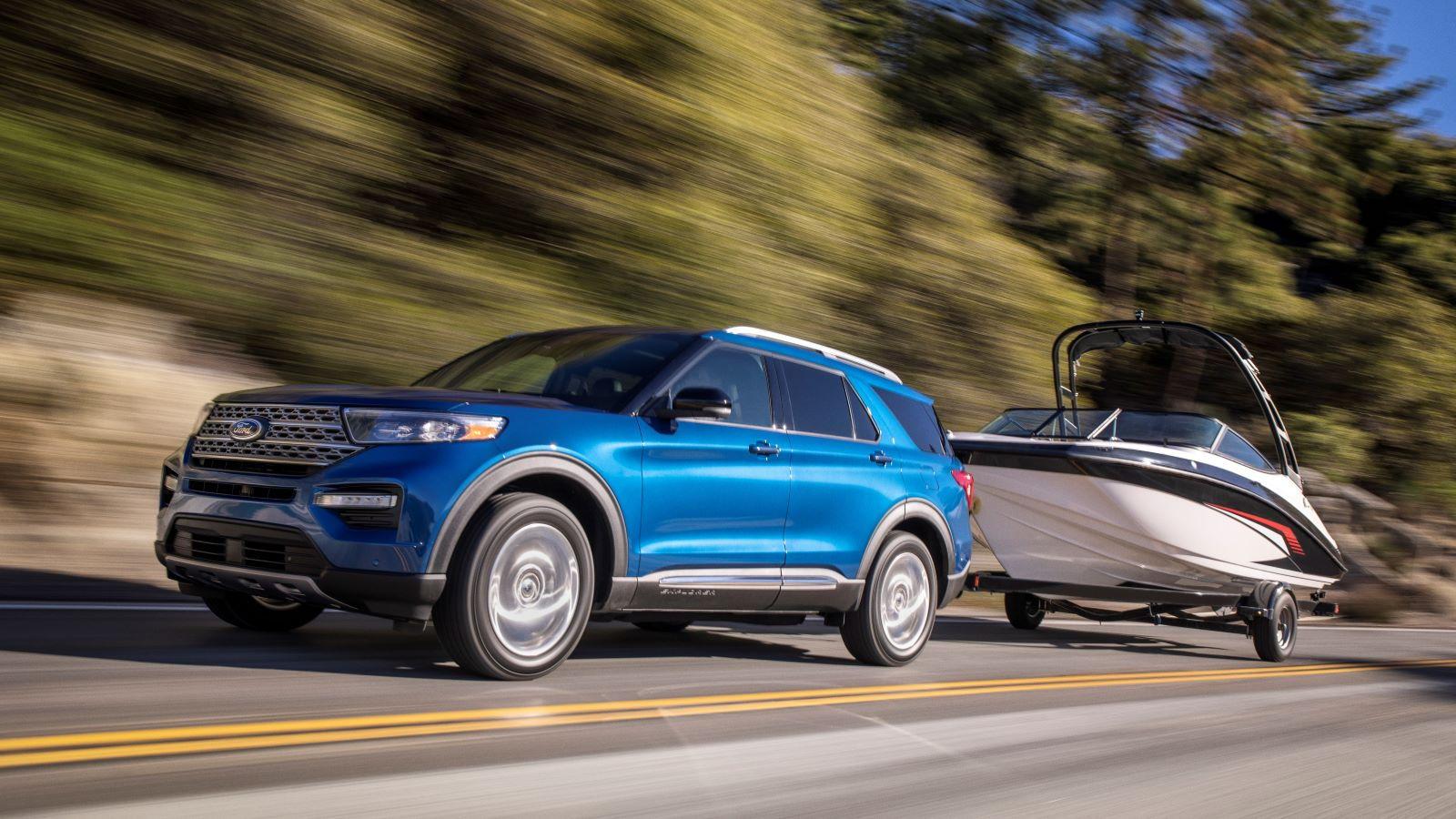 2020 Ford Explorer Hybrid Boasts 500 Mile Range