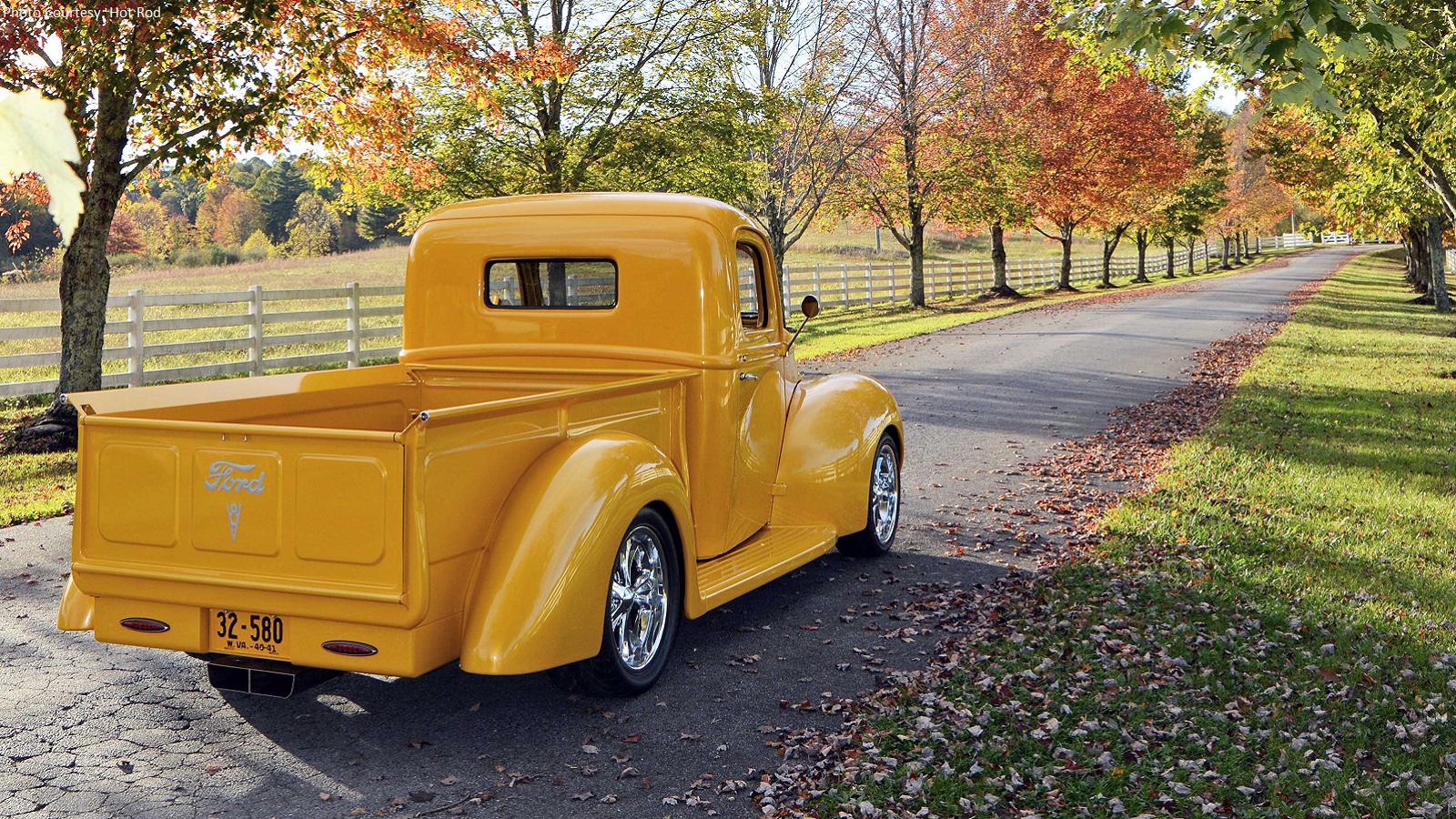 Backyard Built 1940 Ford Truck