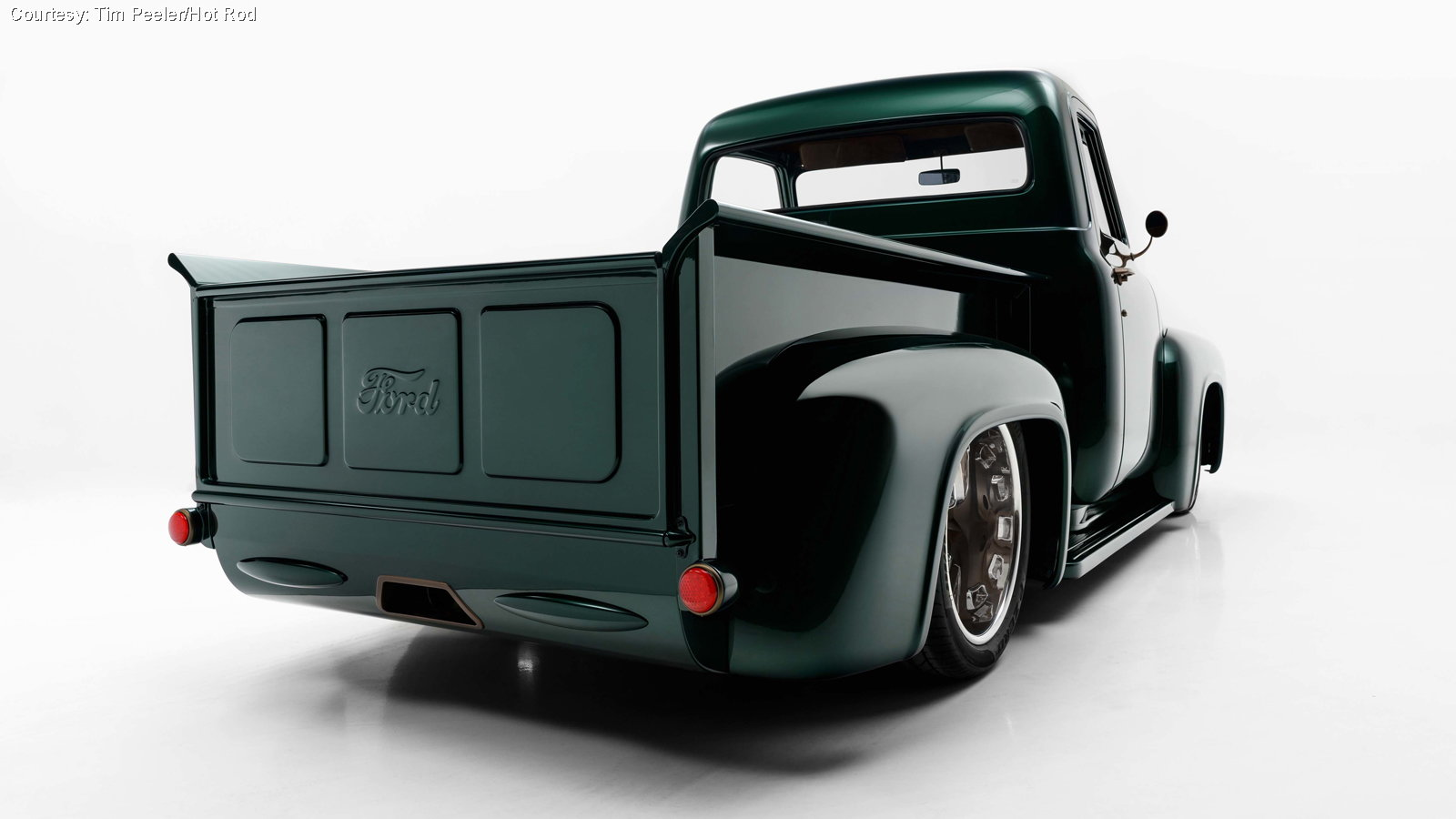This F-100 is the Product of Growing Up Dedicated to Ford