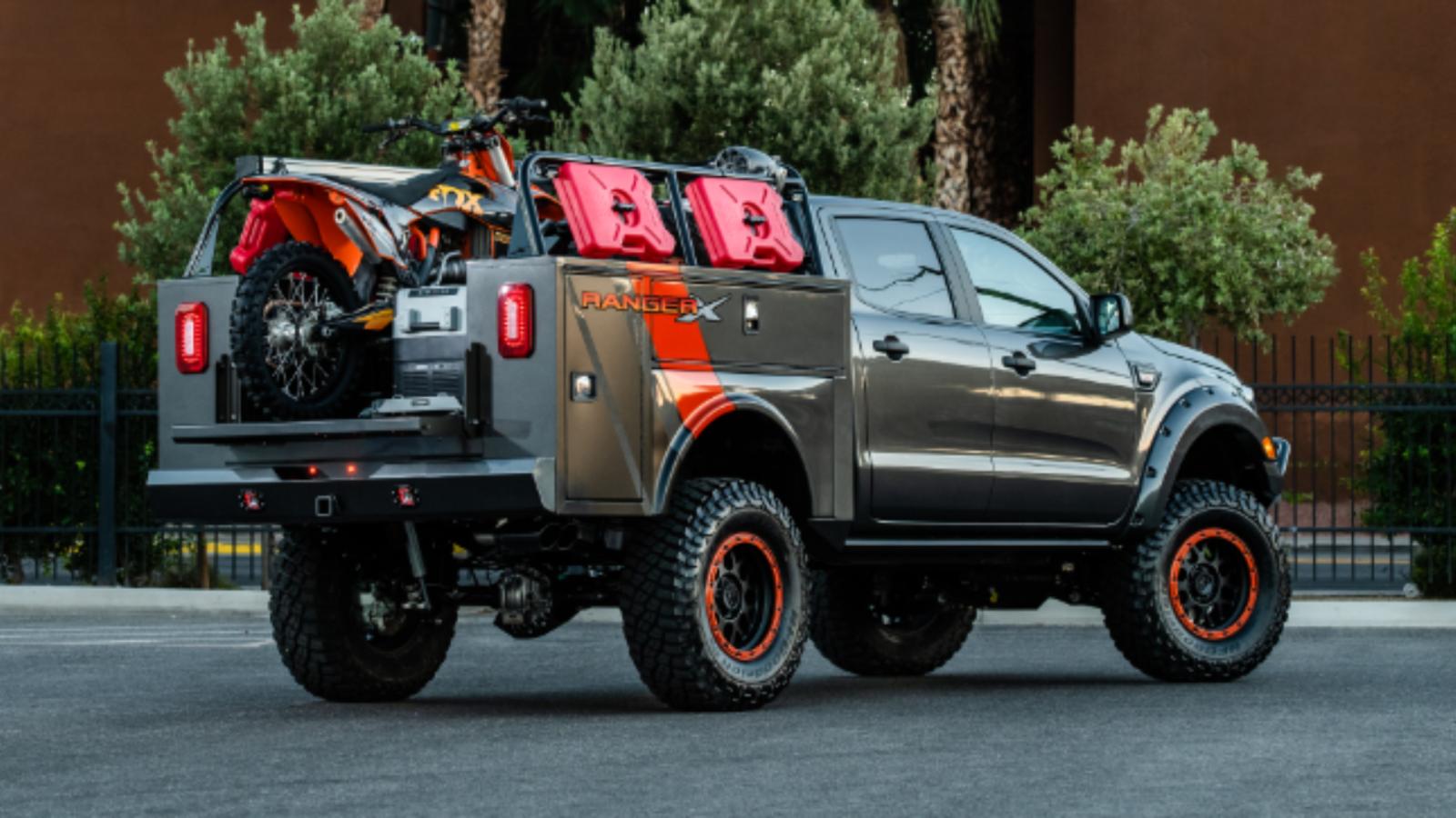 Ford's Outrageous SEMA Ranger Trucks