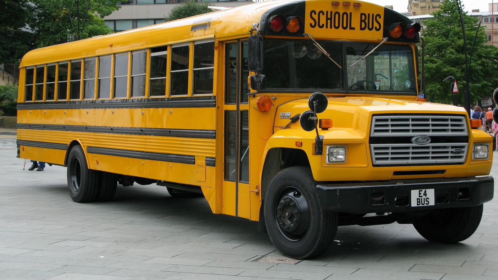 Ford Truck School Bus