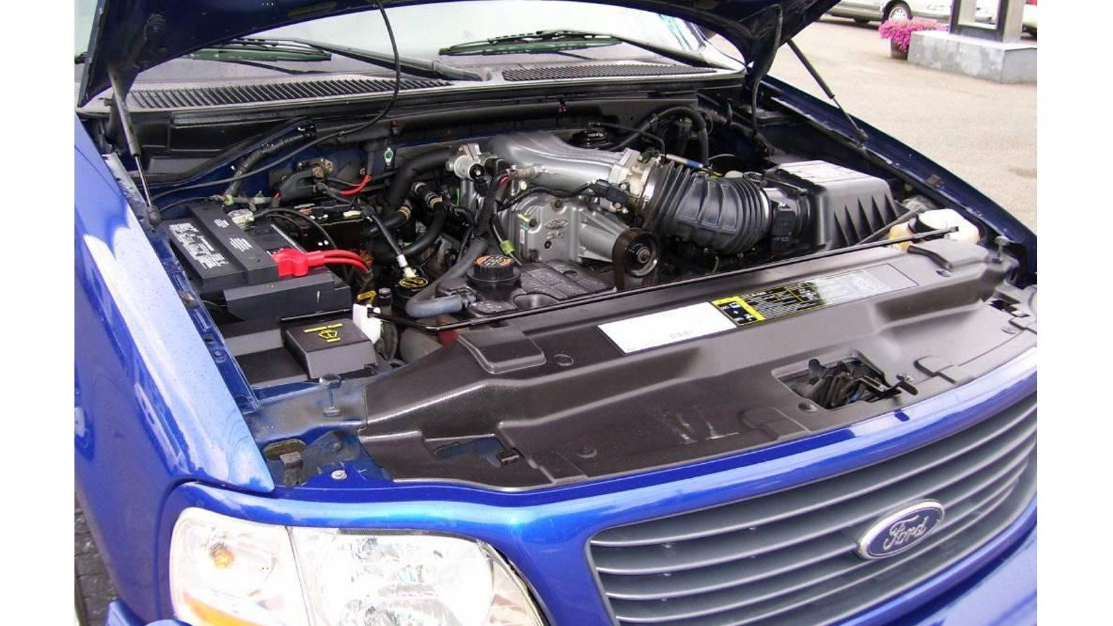 5.4 liter Supercharged V8