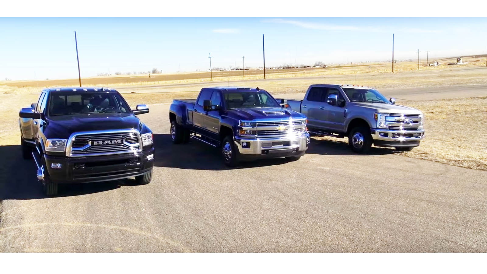 Ford vs Dodge vs  Chevy