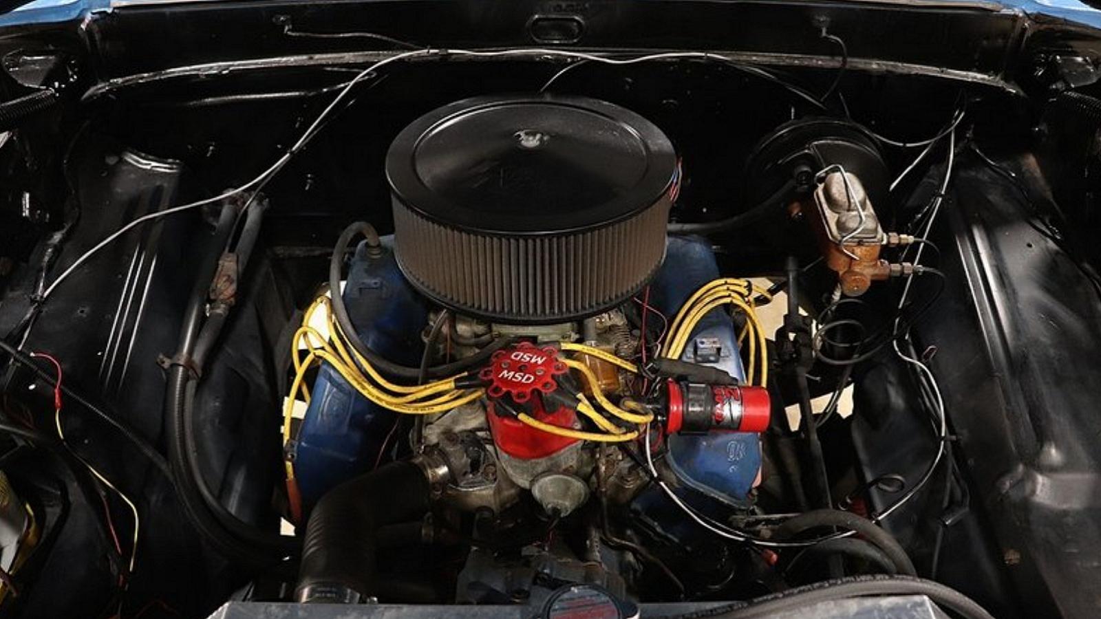 Ford F-100: Part Blue, Part Black, 100% Badass