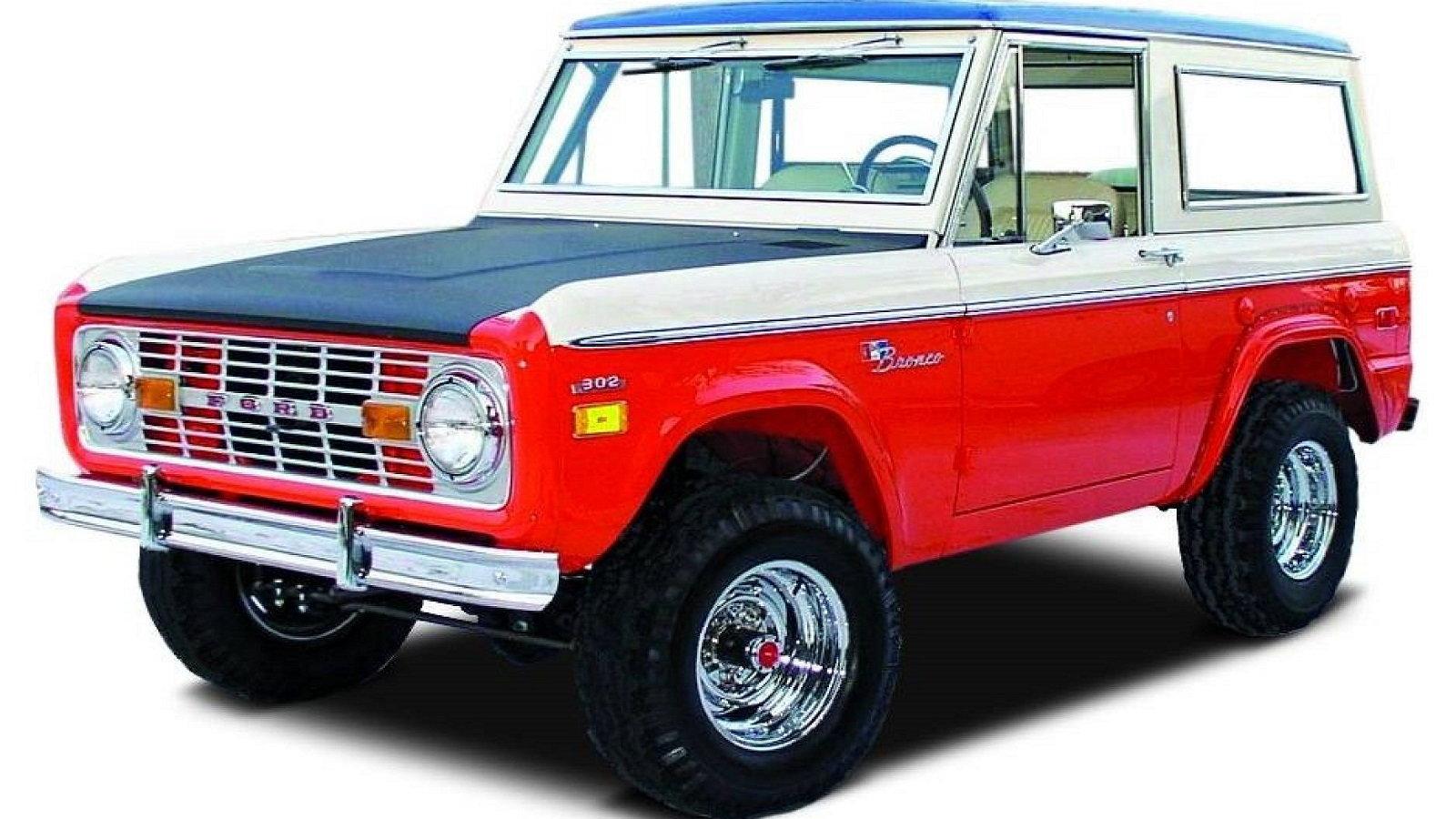 1971-1975 Baja Bronco