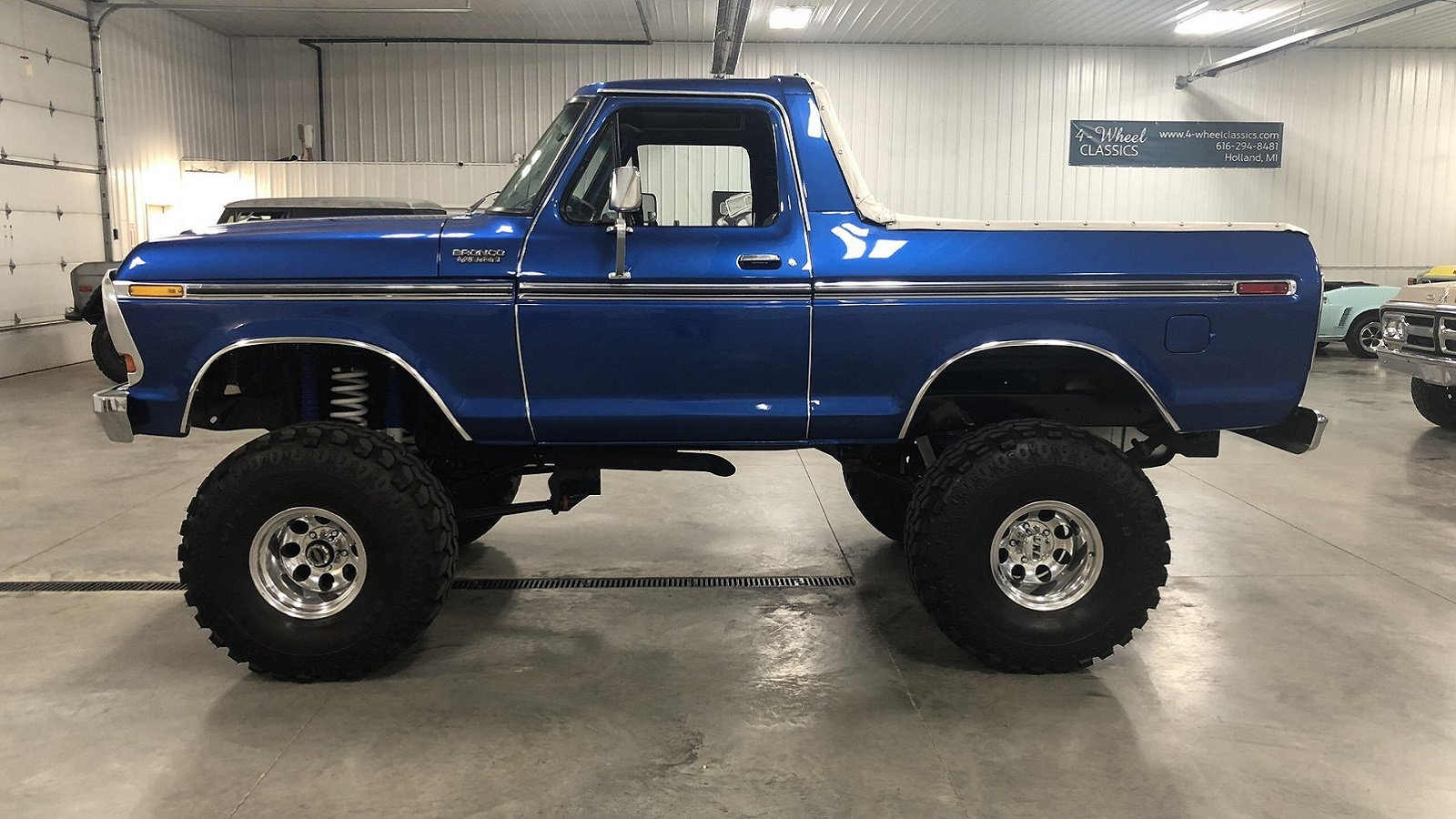 Flawless '78 Ford Bronco Has All the Right Stuff