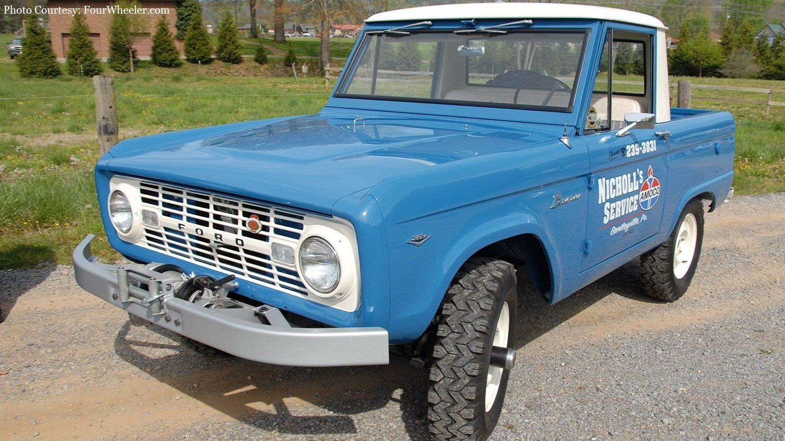 1967 Service Bronco is Here to Save the Day