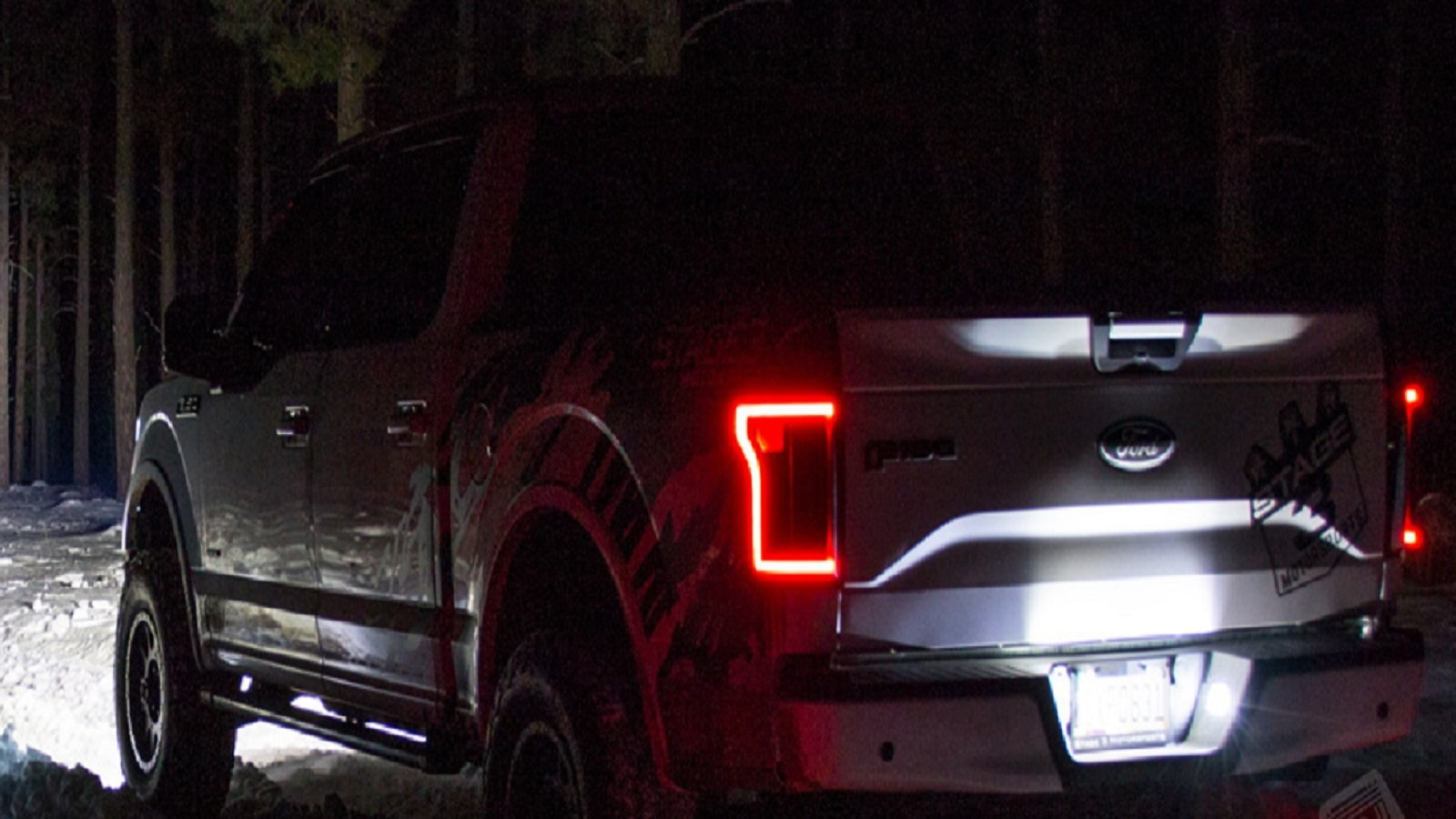 LED License plate Lights on your Ford Truck