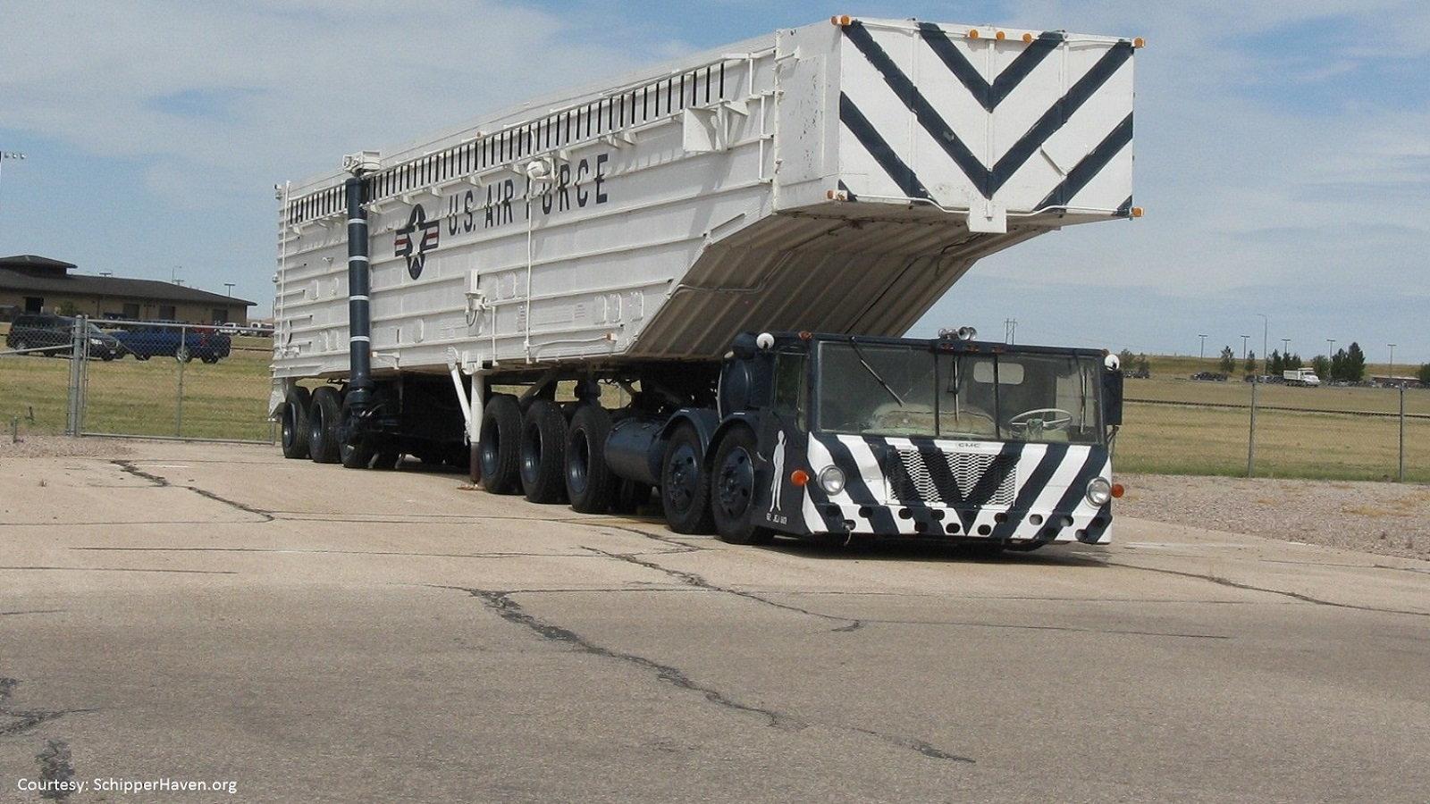 Minuteman Missile Transporter