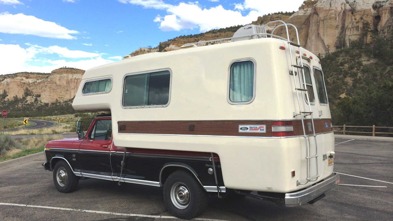 1973-74 Ford American Road Camper