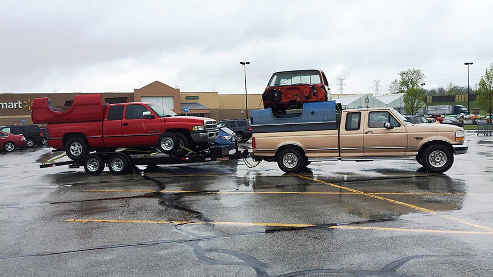 Ford Truck  Bucket List Hauling Funny Items