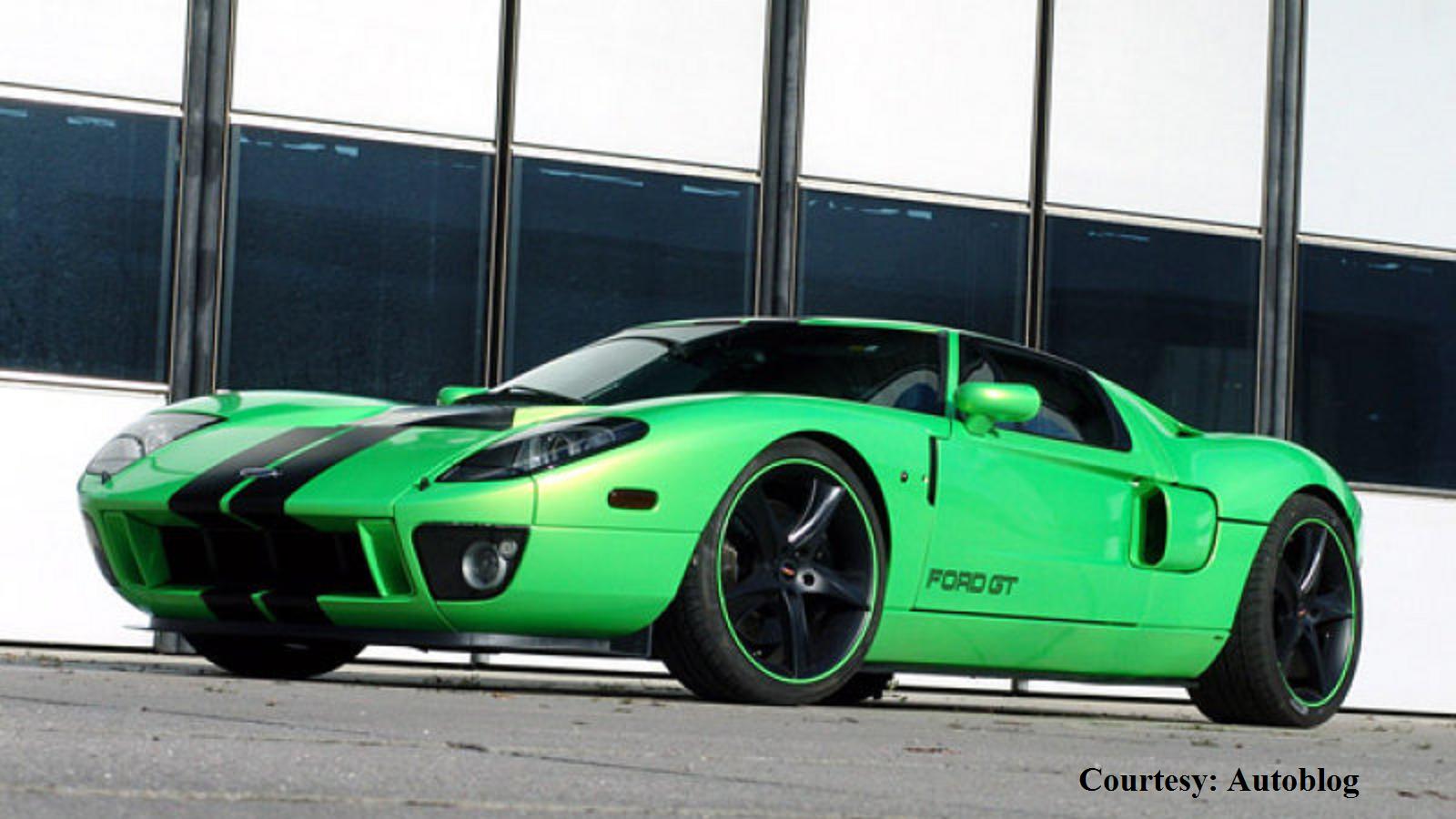 Bright Green Custom Ford GT