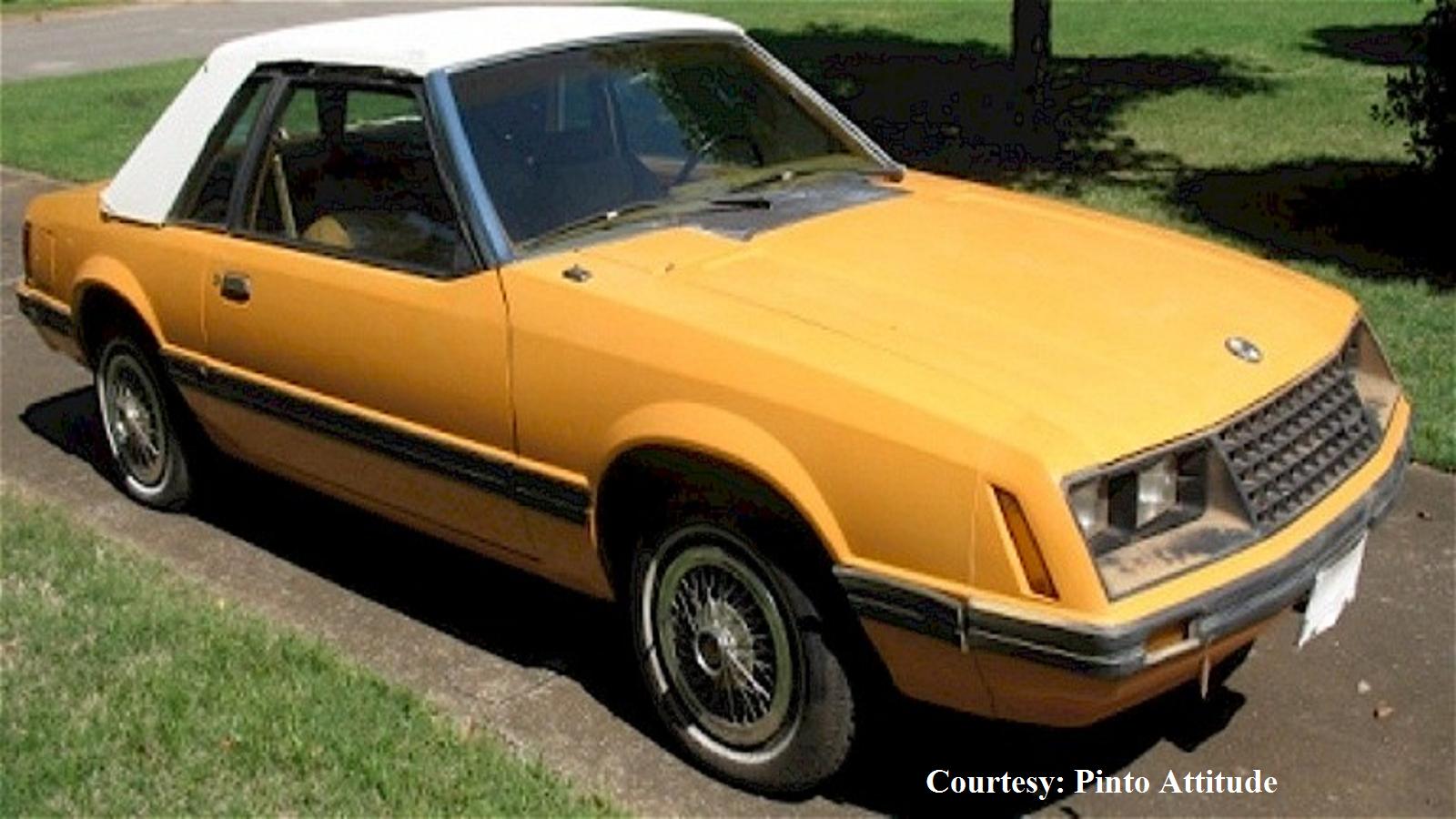 Bright Caramel Fox Ford Mustang