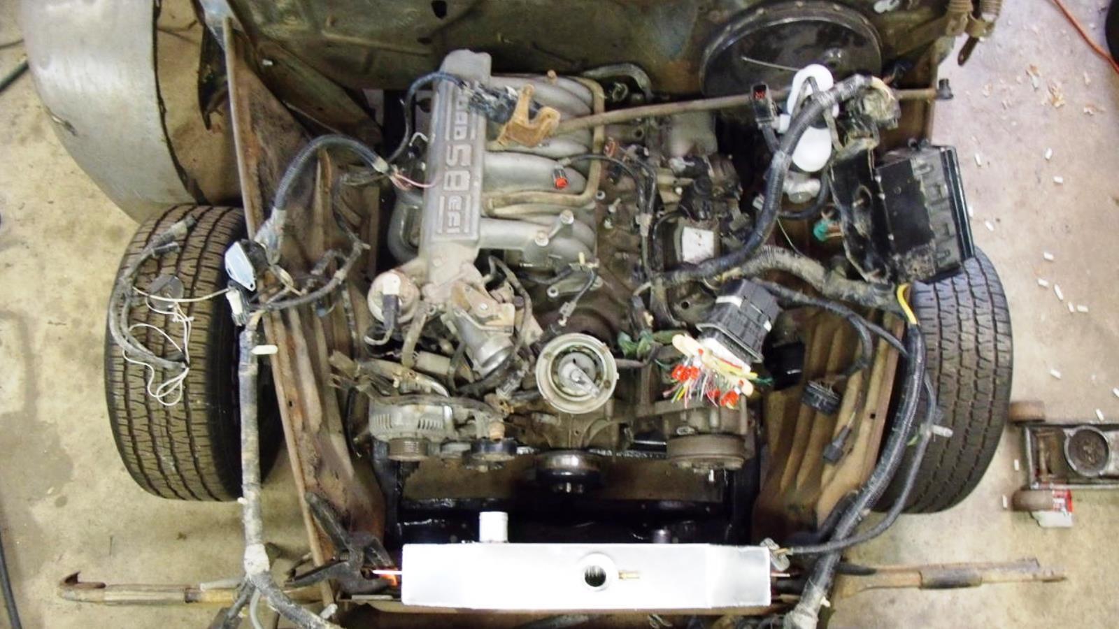4. Ford 5.8 Liter V-8