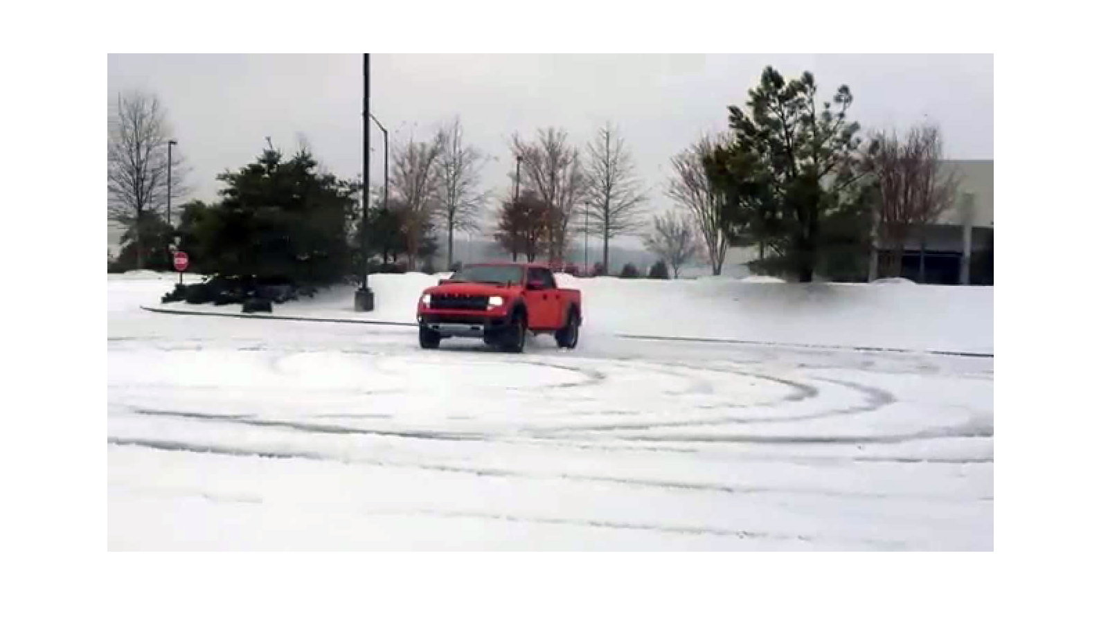 Raptor Snow Drift